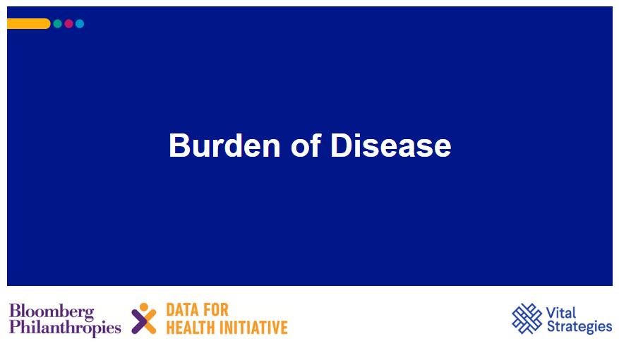 Course Image Burden of Disease