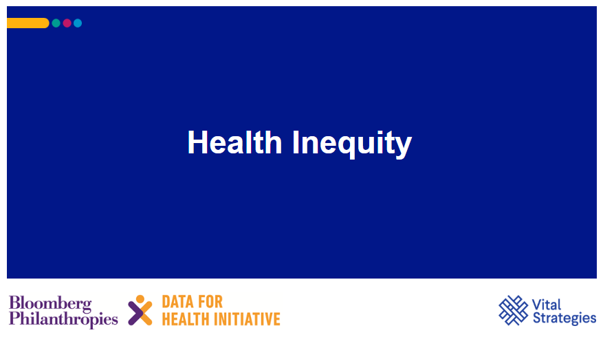 Course Image Health Inequity