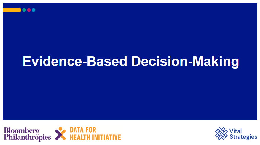 Course Image Evidence-Based Decision-Making