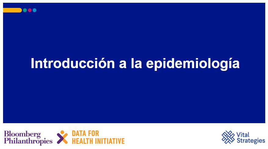 Course Image Introduccion a la epidemiologia