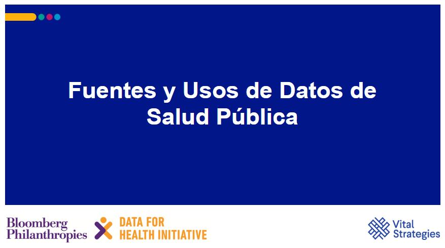 Course Image Fuentes y Usos de Datos de Salud Publica