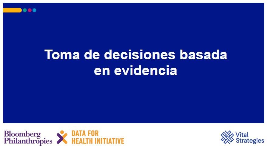 Course Image Toma de decisiones basada en evidencia