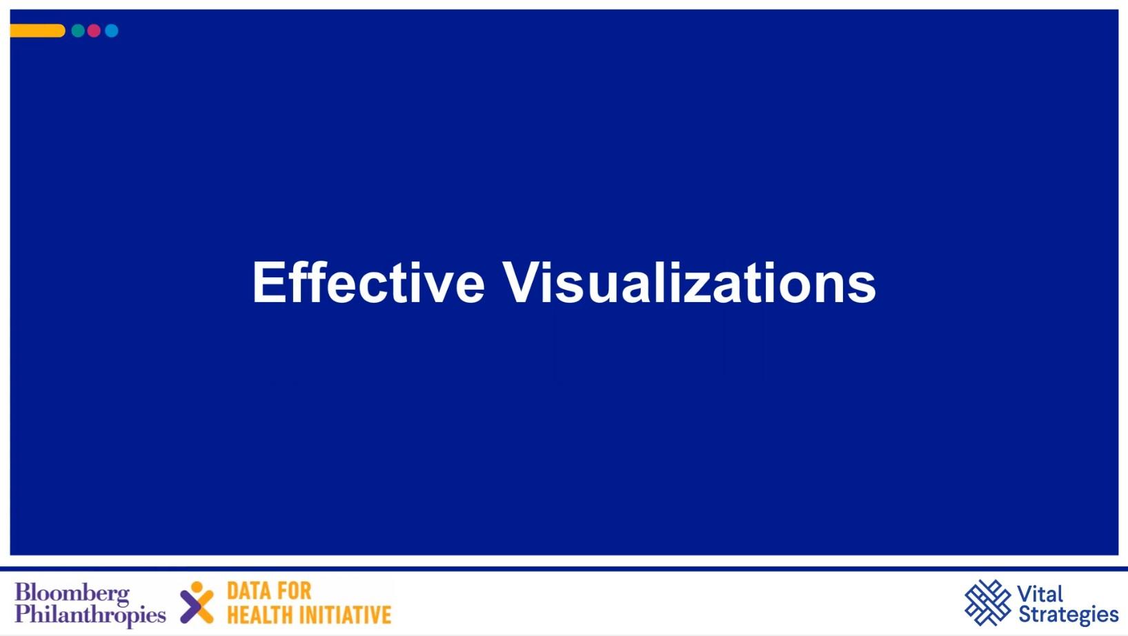 Course Image Effective Visualization Webisode